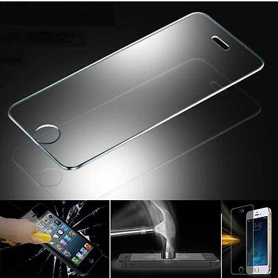 New Premium Real Tempered Glass Screen Protector Film for IPhone and Samsung