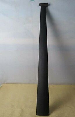 1pcsStrong pure black ebony double bass fingerboard 4/4 #6314