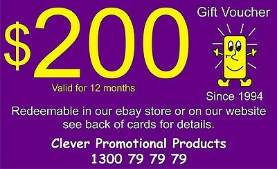 Gift Voucher for those hard to buy for people. $200 to use on anything in store