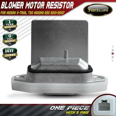 Blower Motor Resistor for Nissan X-Trail T30 01-07 Maxima A33 00-04 Heater Fan