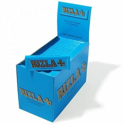 RIZLA Blue Cigarette Rolling Papers Regular Size Tobacco Rolling Paper