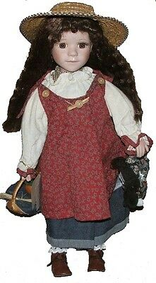 """Jam Lee Collectable Handcraft Porcelain Doll , Limited Edition -20"""""""