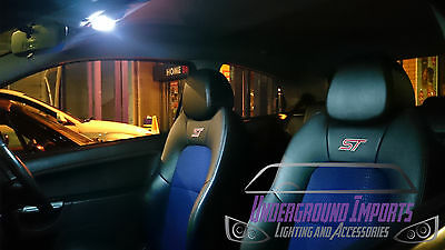 Ford Fiesta Mk6 VI 2003-2008 Interior LED Lighting Kit Bright White ST FREE P&P