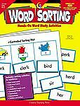Word Sorting Vol. 2181 by Amy Stern and Sue Lewis (2004, Paperback)