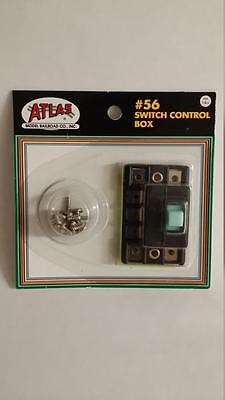 Atlas #56 Switch Control box and hardware model trains - New