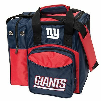 NFL Single Tote 1 Ball Bowling Bag Giants