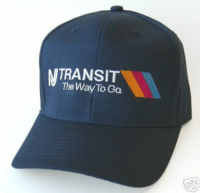 NEW! Embroidered NJT New Jersey Transit Cap