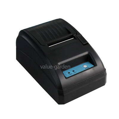 858mm POS Thermal Receipt Printer Black (USB RS232) Office + Free Paper Roll
