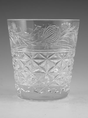 STUART Crystal - MANSFIELD Cut - Tumbler Glass / Glasses - 3 1/2""