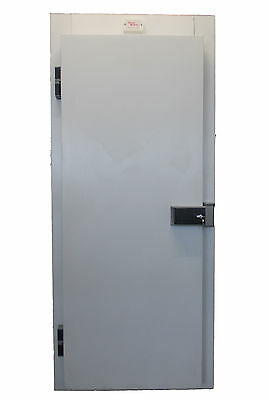 Freezer Room Door and frame 700mm x 1900mm Clear Opening Walk-In White