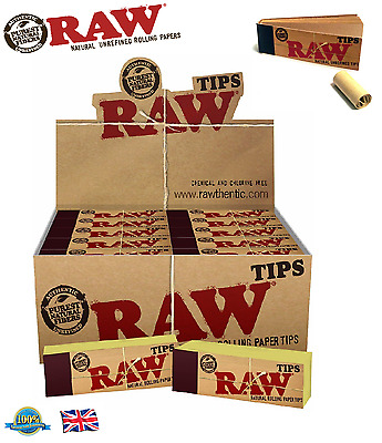 Raw Cigaratte Rolling Paper Tips - Filter Tips Roach Filter Tips Rizla