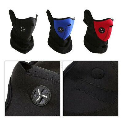 Bicycle Bike Motorcycle Anti Pollution Half Face Mask Cover Neck Veil Guard Hot
