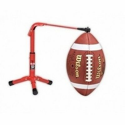 Football Holder Field Goal Kicking Stand Practice Tee Equipment Kicker Gear  Pad