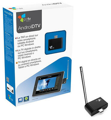 Sintonizador TDT Android Hauppauge PCTV Systems AndroidTV 78e SmartPhone Tablet