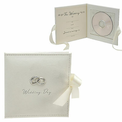 Wedding Day CD/DVD Photo Picture Album Display Case Keepsake Or Gift WG314