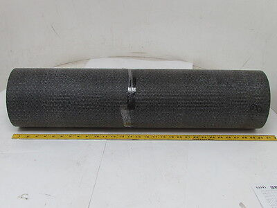 "1-Ply Rough Top Incline Conveyor Belt Rubber Mat 30"" Wide 96"" Long 1/4"" Thick"