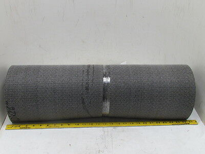 "1-Ply Rough Top Incline Conveyor Belt Rubber Mat 27"" Wide 13' Long 1/4"" Thick"