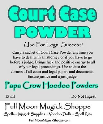 COURT CASE JUSTICE Ritual Oil Potion Anointing Oil ~ Wicca