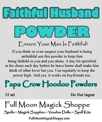 DOMINATION HOODOO POWDER Control Others Boss Wife Husband