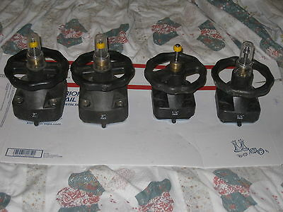 """4 ITT Industries Valve: two 2"""" PAS and two 11/2"""" PAS"""