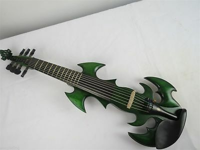 The Best SONG Brand Top art streamline 4/4 electric violin,solid wood # 9356
