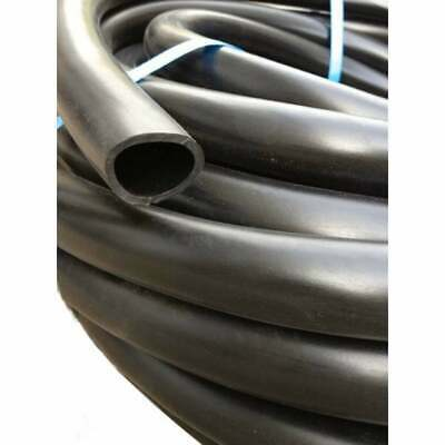 30M 25MM I.D. 100% Rubber Sullage Grey Water Hose MADE IN AUSTRALIA!