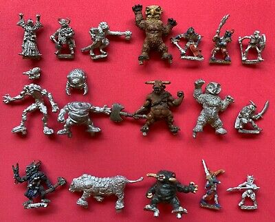 Citadel TSR ADD 79 Mindflayer/ADD59 Troll/Thief/Drow/Owl Bear/Cleric/Assassin