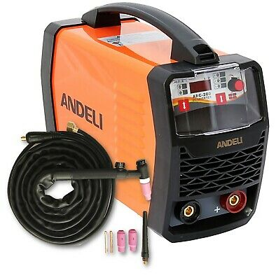 200Amp Mma/Lift Tig Dc Inverter Welder Welding Machine Duty Cycle 60% +Tig Torch
