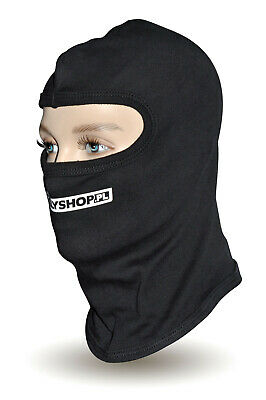 OMP Open Face Balaclava CHEAP DELIVERY WORLDWIDE Karting White ONE SIZE