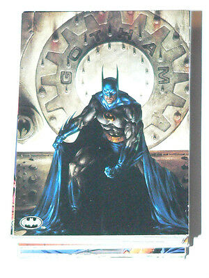 Batman  Saga of the Dark Knight by Skybox in 1994. Complete 100 card base set