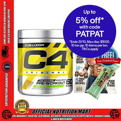 Cellucor C4 G4 60 Serves Pre Workout Orange Focus No:1 Pre Workout