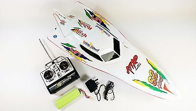 XMAS SALE 7000 RC Remote Radio Control R/C Syma WHITE Stealth Racing Speed Boat