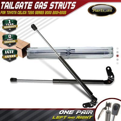 Set of 2 Hatch Gas Struts for Toyota Celica T230 2000-2005 Rear Left and Right
