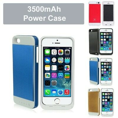 3500mAh External Battery Charger Case Ultra Slim Power Bank For iPhone 5 5S ios7