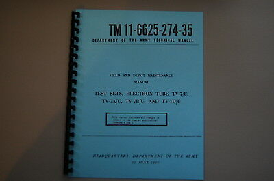 TV-7 Tube Tester Repair Manual With Clear Photos
