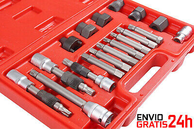 Extractor/juego Puntas Llaves Polea Alternador 18 Pzs - Alternator Repair Set