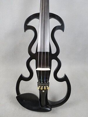 Hand carved electric violin,SONG streamline 4/4 electric violin,solid wood 5284A