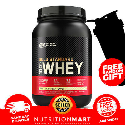 Optimum Nutrition 100% Whey 2Lbs // Gold Standard Protein Powder Wpi Wpc