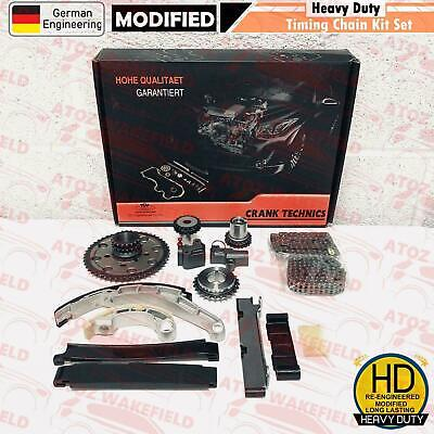 For Nissan Navara Pathfinder 2.5 TD Diesel D40 R51 YD25DDTi Timing chain kit >09