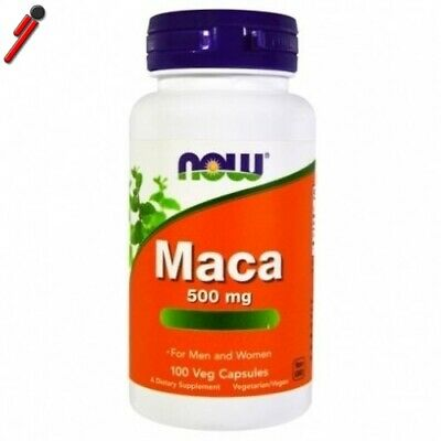 Now Foods - Maca - 100 cps. Integratore Tonico