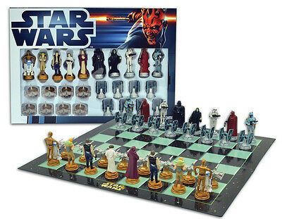 STAR WARS CLASSIC - MERCHANDISE - CHESS SET / CHESS GAME (BOARD GAME)