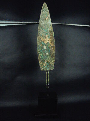 Bronze Bactrian Large Spear Head 300 BC