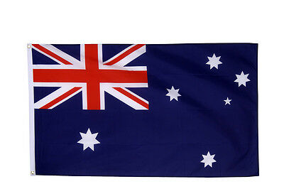 Australia Flag Large 5 x 3 FT - 100% Polyester - Australian Down Under Party Oz