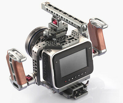 Tilta BMCC BMPC Cage Blackmagic Production Cinema Camera 4K Shoulder Rig rod