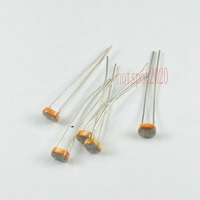 50x 5528CDS Photo Light Dependent Sensitive Resistor Photoresistor LDR Photocell