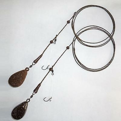 Complete Chod Rig Set, Muddy Brown, Rig-Leadcore-Weight, Multiple Variations