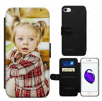 Smart Personalised Photo Collages Leather Flip/Wallet Case Cover Iphone Samsung