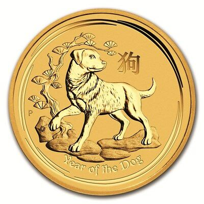 Piece or Australie 1/4 once Coq 2017 gold coin Lunar Rooster 1/4 oz 25 dollars