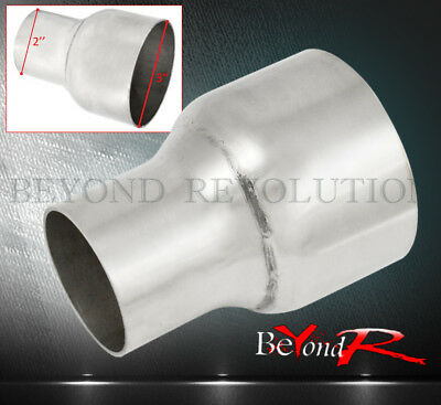 """UNIVERSAL TURBO SUPER CHARGER PIPING PIPE ADD ON EXTEND 2""""-3"""" STAINLESS REDUCER"""