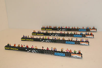 4 pce TRACKSIDE TIREWALLS SET. 100 PREMIUM PEOPLE ,GREAT for AFX ,TYCO RACESETS